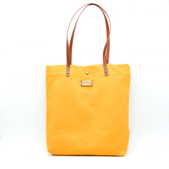 Tote Bag Mundaya Monochrome Mostaza