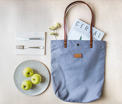 Bolso tote bag Mundaya hecho a mano en España