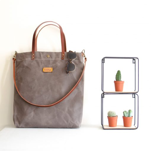 El bolso Alondra gris es perfecto para el día a día