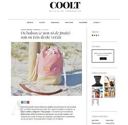 Mención a las mochilas de Mundaya en la revista Coolt