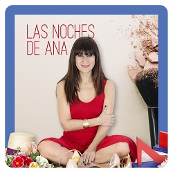 Lara Santomé, fundadora de Mundaya, en un programa de Correo Televisión