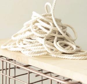Cordón de algodón orgánico de Mundaya