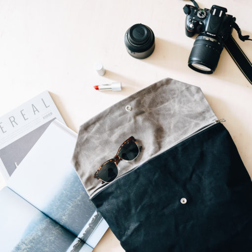 La mochila encerada Vinka es perfecta para vivir la vida.
