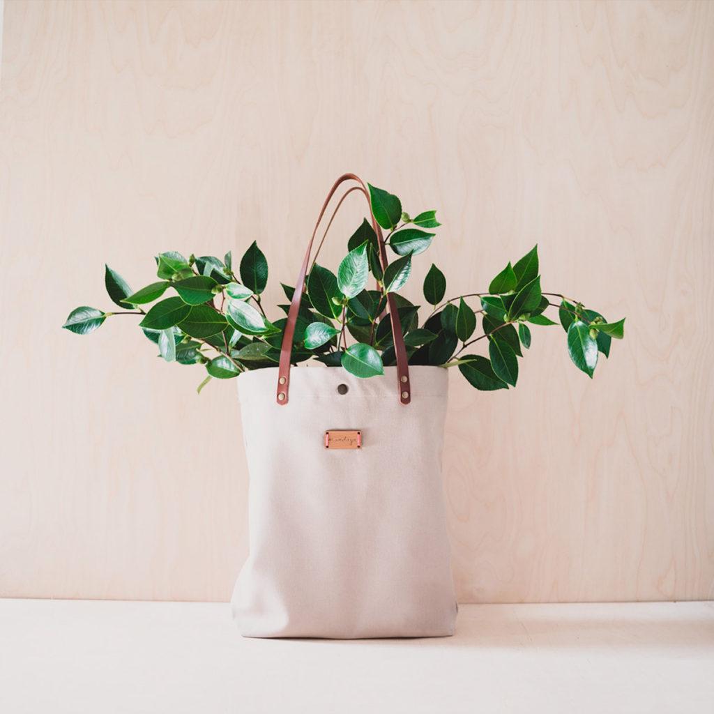Bolso Monocrhome con Plantas - Mundaya